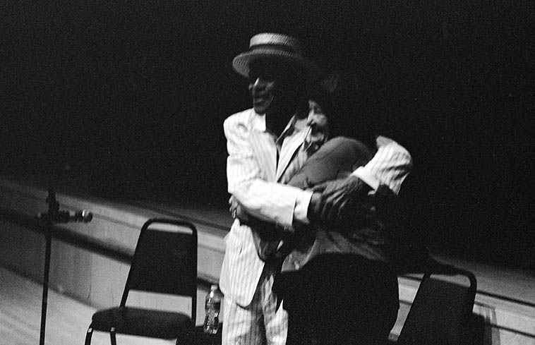 Jon Hendricks & Sheila Jordan -- July 28, 2o12 Santa Fe -- photo by Mark Weber