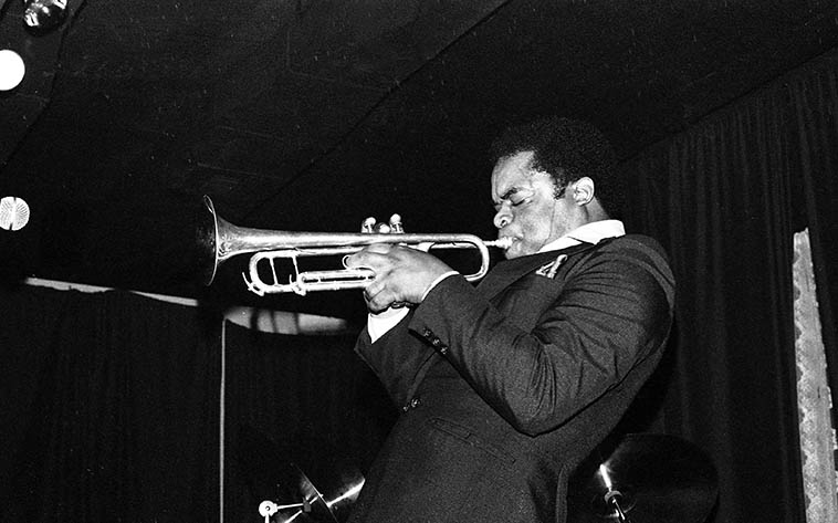 Freddie Hubbard -- October 1, 1979 -- photo by Mark Weber