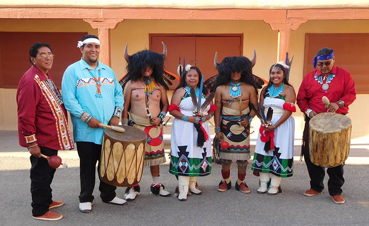 Zuni dancers -- photo by Mark Weber