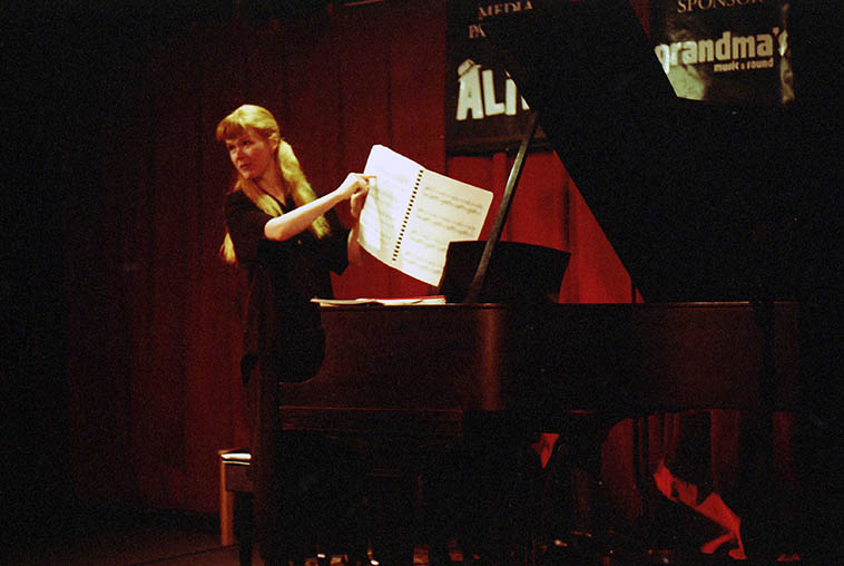 Sarah Cahill solo piano music of Ruth Crawford Seeger, from San Francisco