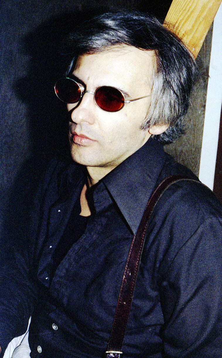 Paul Bley visiting the Little Big Horn (Vinny was driving him around) -- December 19, 1976 -- photo by Mark Weber