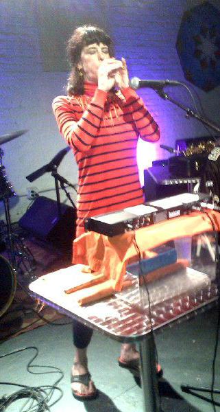 Playing mizmar at ShapeShifter, NYC, circa June, 2015 (photographer unknown)