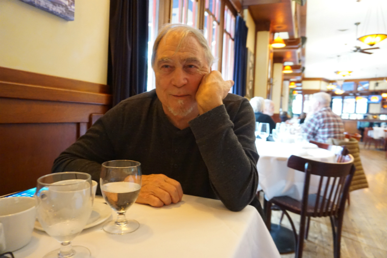 Lunch with master saxophonist Charley Krachy ------- November 18, 2o18 – photo by Mark Weber