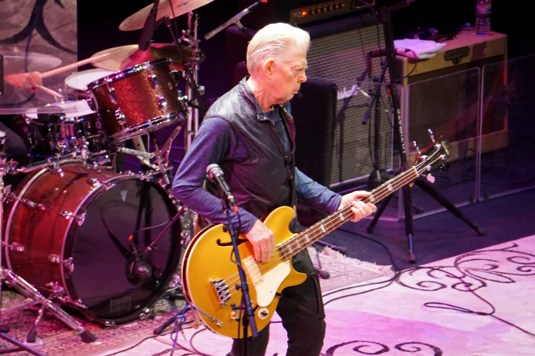 Jack Casady (bass) HOT TUNA September 11, 2018 Albuquerque. Photo by Mark Weber