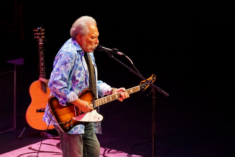 Jorma Kaukonen (guitar) HOT TUNA September 11, 2018 Albuquerque. Photo by Mark Weber