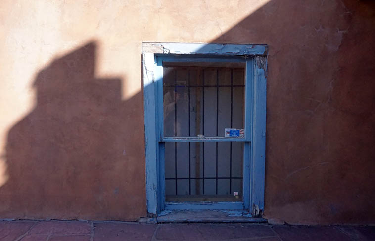 From my on-going series of Blue Windows ---- photo by MW October 11, Santa Fe