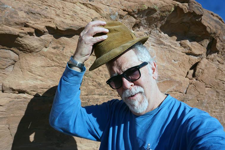 Self-Portrait east of Flagstaff ---- November 20, 2o19
