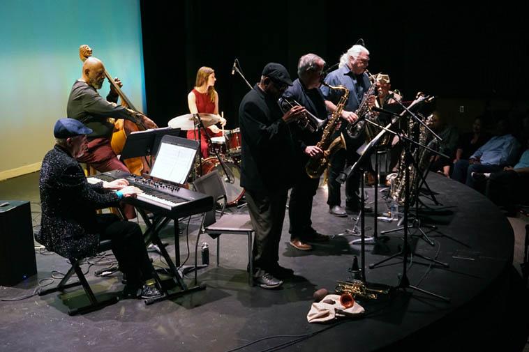 The Bobby Bradford Ensemble ---- November 17, 2o19 ---- photo by Mark Weber