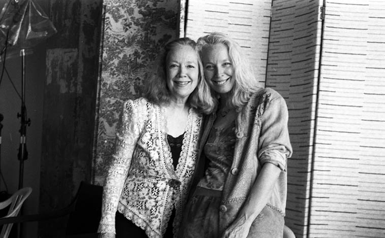 Connie Crothers & Kazzrie Jaxen – September 18, 2oo5 ---- photo by Mark Weber