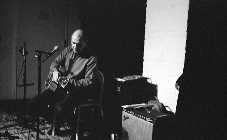 Andy Fite at The Stone, Lower East Side, Manhattan ---- September 17, 2009 ---- photo by Mark Weber