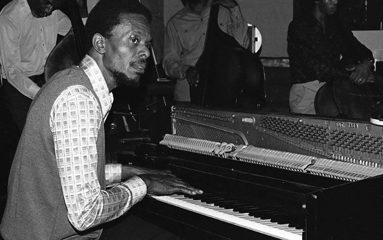 Horace Tapscott and Pan Afrikan Peoples Arkestra ---- January 30, 1977 ---- Sunday at I.U.C.C. ---- photo by Mark Weber