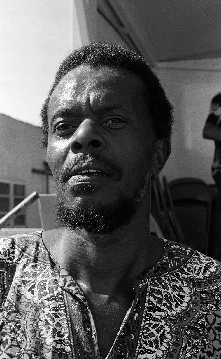 Horace Tapscott ---- July 7, 1979 ---- photo by Mark Weber