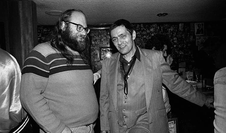 Dwain Kaiser and Art Pepper at Donte's in N. Hollywood ---- January 16, 1982 ---- photo by Mark Weber