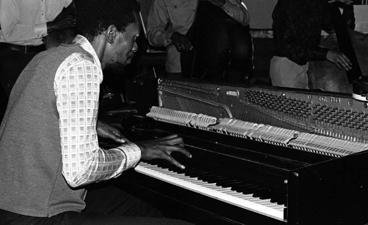 Horace Tapscott ---- January 30, 1977 ---- photo by Mark Weber