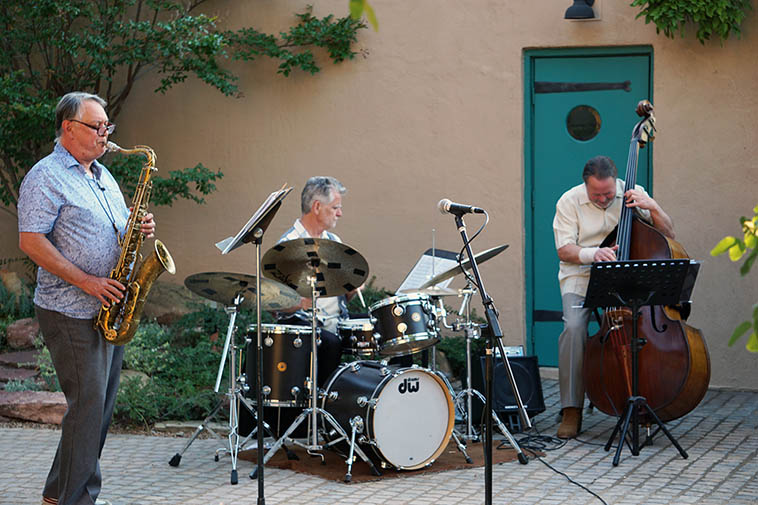 Long Shot Trio in full flight ---- June 20, 2020 Albuquerque --- photo by MW