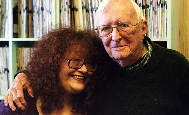 Patti Littlefield and Arlen ----November 8, 2017 ---- They had a long-standing collaboration in song & ensemble ---- photo by MW
