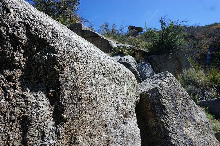 Generically known as Sandia granite