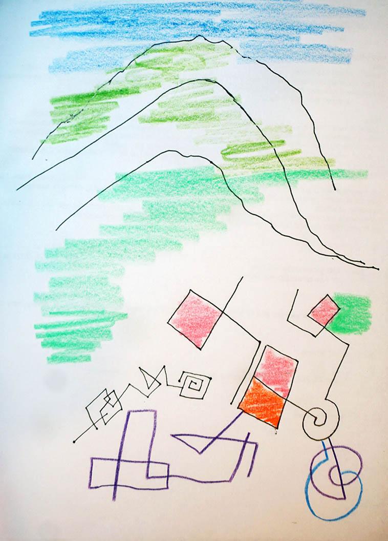 The Sandia Mountains by MW 2021